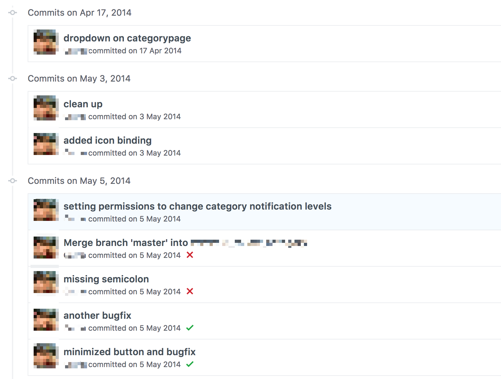 Editing your git history with rebase for cleaner pull
